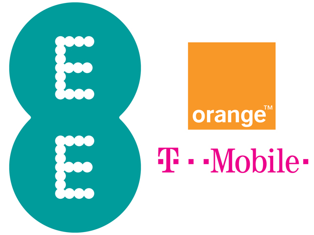 EE Orange and T-Mobile
