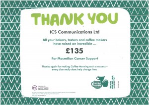 Macmillan Cancer Support 2017